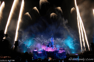 Disney Fireworks photos