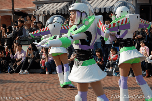 Flights of Fantasy Parade Hong Kong Disneyland Buzz Lightyear Female Costume for ladies