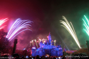 Hong Kong Disneyland Disney in the Stars Fireworks Display