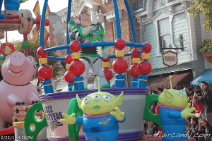 Hong Kong Disneyland Flights of Fantasy Parade Buzz Lightyear Toy Story