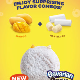 Mister Donut New Flavors! Bavarian Doubles Mangostillas and Chocoyema